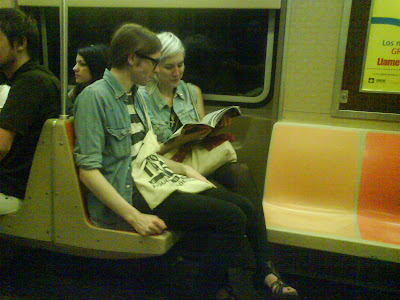 Hipster Fashion Trends on Floating Robot  Subway Fashion  Hair Edition
