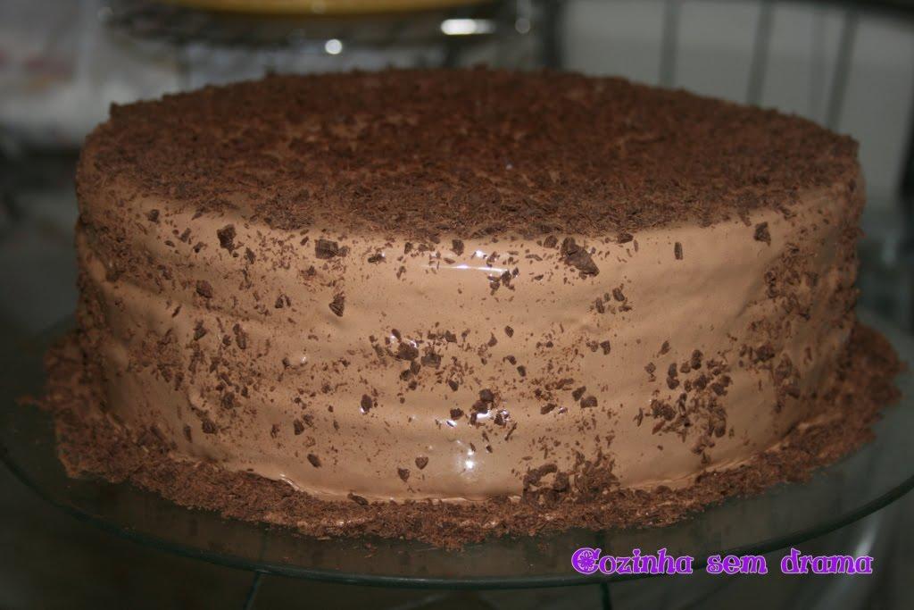 Cozinha Sem Drama Bolo De Chocolate Para O Aniversário De Meu Irmão