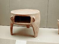 Horno griego. Museo prehistorico de Thera.