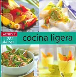 Portada del libro Cocina Ligera de Larousse