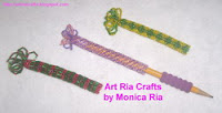 Pen / Pencil Wrap by Monica Ria