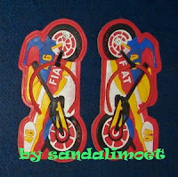 Sandal Imoet Racing Motor Cycle by sandalimoet