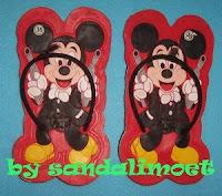 Sandal Imoet Mickey n Gun by sandalimoet