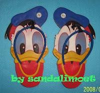 Sandal Imoet Donald's Face by sandalimoet