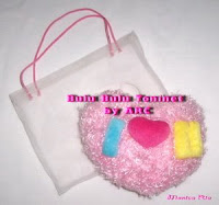 Pink  Heart Hanger by Art Ria Crafts