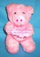 Piggy Cute Doll by Monica Ria