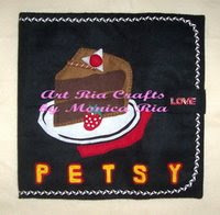 Choco Cake File Cover 4 Petsy by Monica Ria
