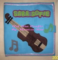 Violin 4 File Cover 4 Sara Sofie by Monica Ria