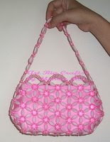 Sweet Pinky Kwaci Handbag