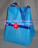 Damar Goody Bag With Flower by Monica Ria