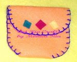 Sukade Mini Wallet - Art Ria Crafts by Monica Ria