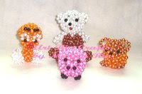 Puppets Beaded - Art Ria Crafts by Monica Ria
