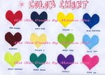 Spunbund Color List 1 - Art Ria Crafts by Monica Ria