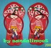 Sandal Imoet Strawberry Cake GS