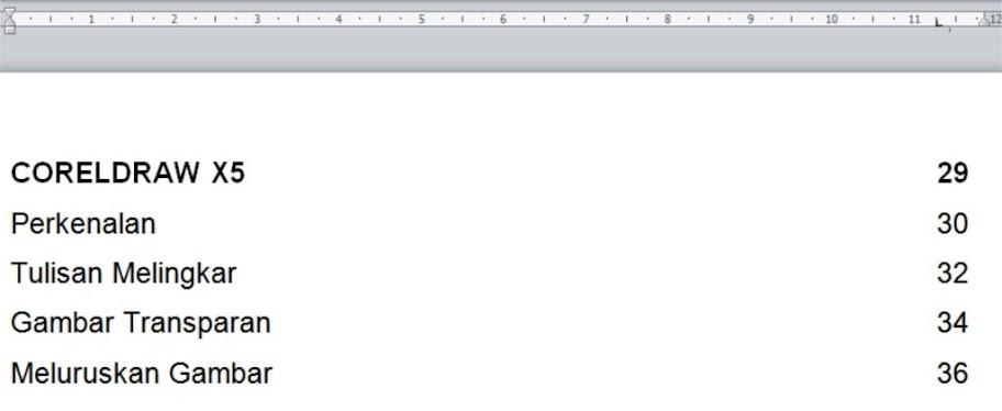 Ms. Word - Membuat Daftar Isi - Sharing Ilmu Yuk!!!