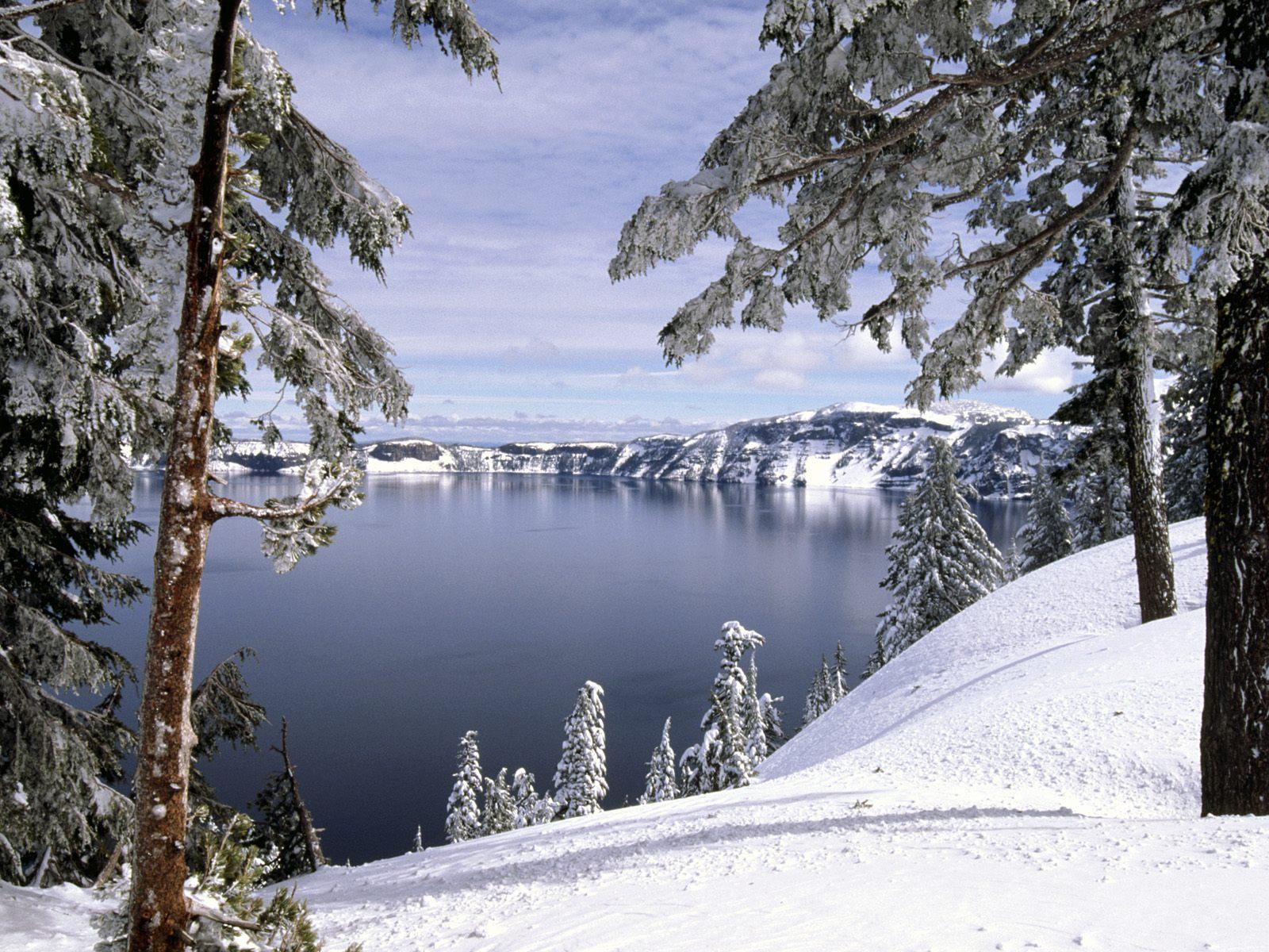 3 Kar manzaralı hd masaüstü resimleri