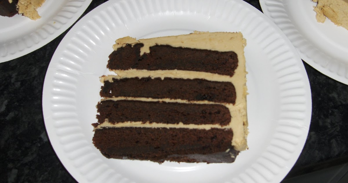 ... : Yank Bakes Mile High Devil's Food Cake with Brown Sugar Buttercream