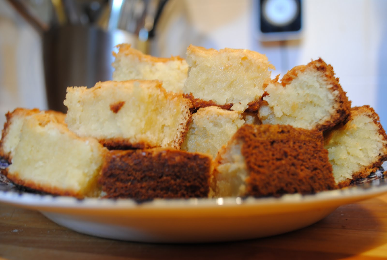 Cafe 305: White Chocolate Brownies