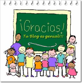 "Premio ""Tu blog es genial"""