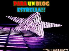 Premio Blog Estrella.