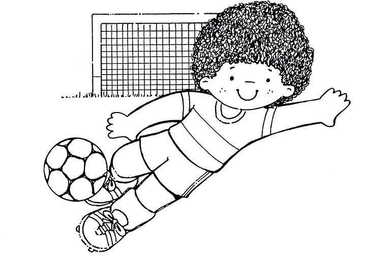Moderno Página Para Colorear De Fútbol Inspiración - Ideas Para ...