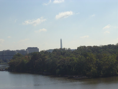 dc and gtown campus in distance