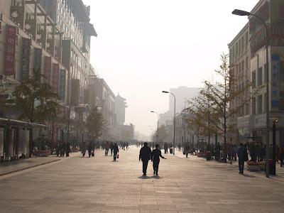 Wangfujing Street Scene