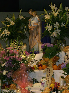 St. Joseph Altar at St. Frances Cabrini Church