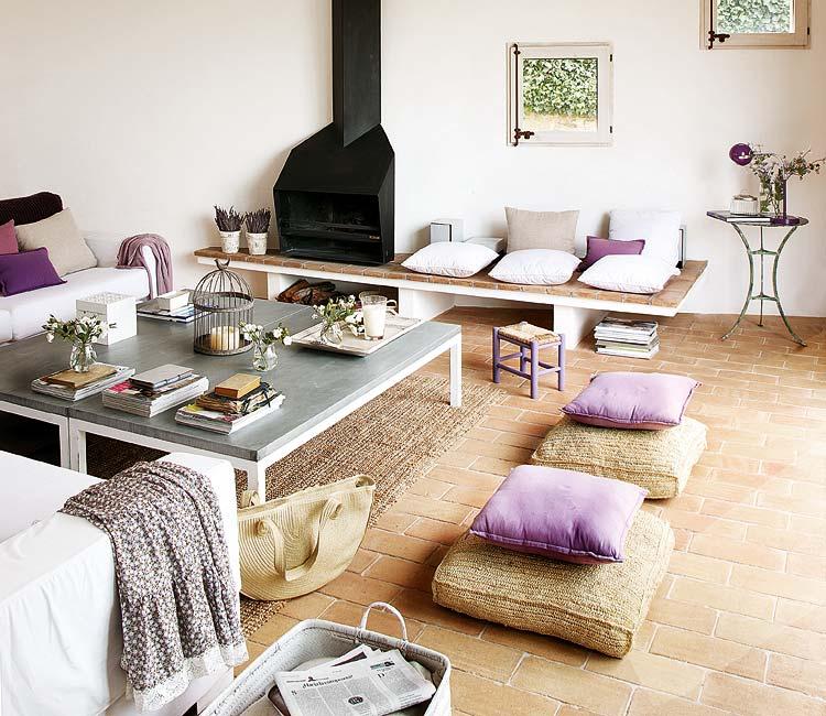 Con toques en hippy chic decorar tu casa es for Salon hippie