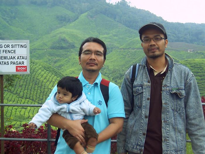 3 hero @ ladang teh
