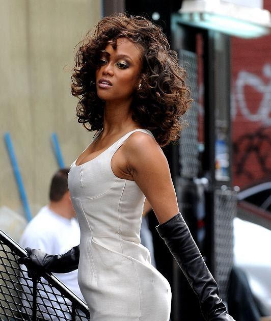 New Tyra Banks: Digital FAME: Tyra Banks -New Body New Photoshoot