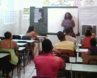 Visita ao Curso de Empreendedor Individual pela ADESOL na Região do Nordeste de Amaralina