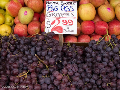 Grape ass all