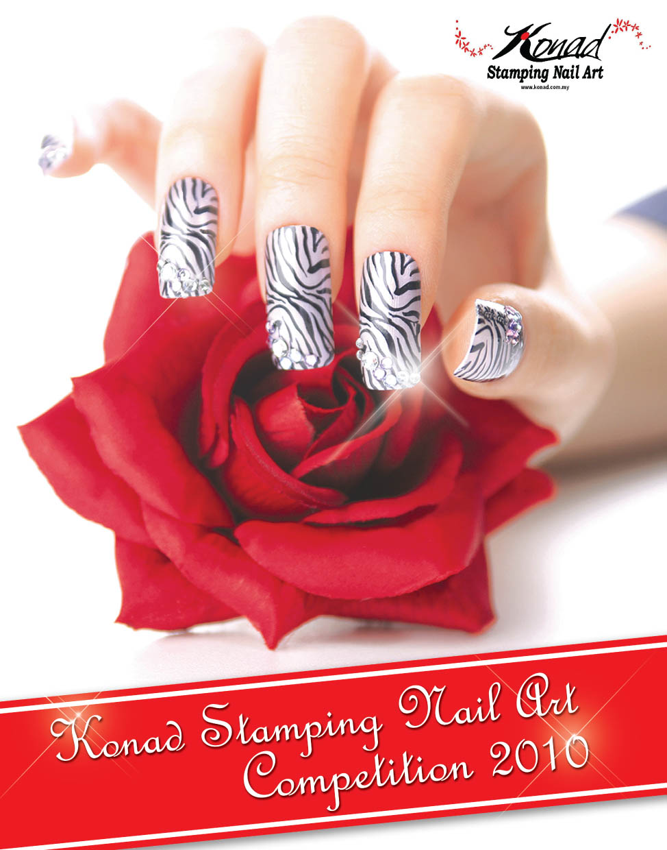 Konad Stamping Nail Art-3