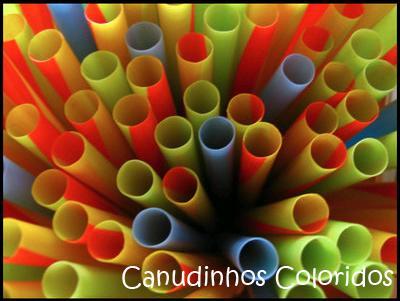 Canudos Extras Coloridos