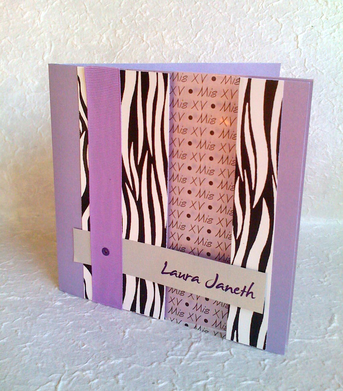 Invitaciones Y Video Octubre 2010 Invitacion Animal Print Cebra Rosa