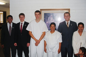 Margarita's Baptism (next to Elder Biddle)
