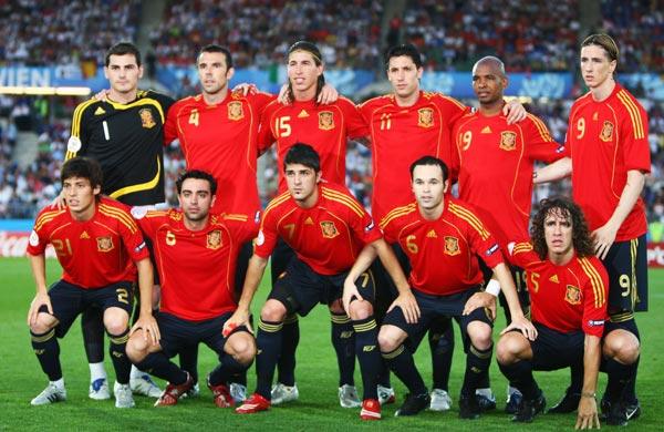 Selección española de futbol en la Eurocopa 2008 ante Italia