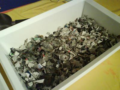 Como hacer papel reciclado, paso a paso