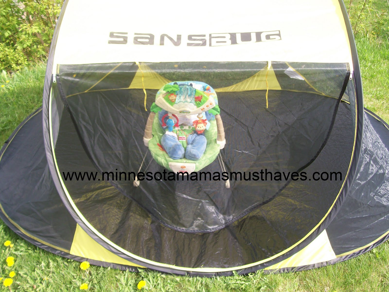 Save & Keep the bugs away from you and your kids with the Sansbug Tent ...