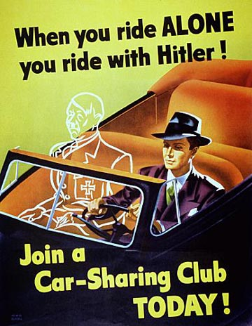 World War 2 propaganda posterand