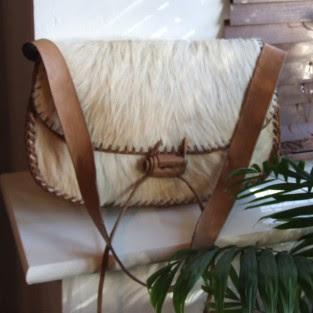 goat skin handbag