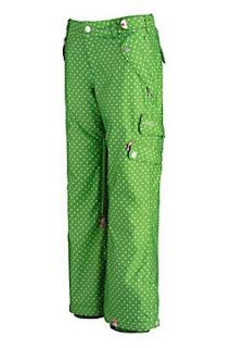 roxy ladies ski wear spot pants