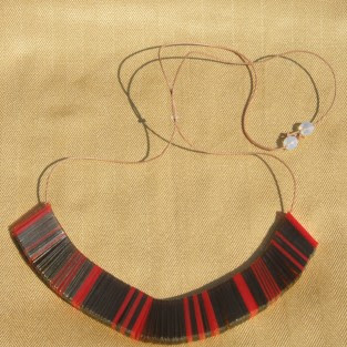 urban warrior necklace by Mana