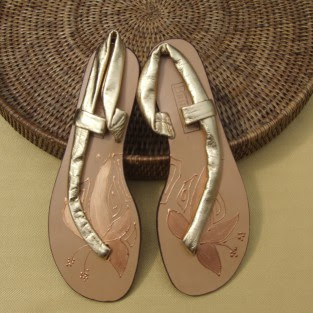 handcrafted leather sandal