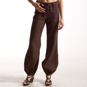 flattering harem balloon trousers