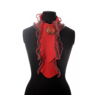 luxury knitted lambswool scarf, christmas gifts for her