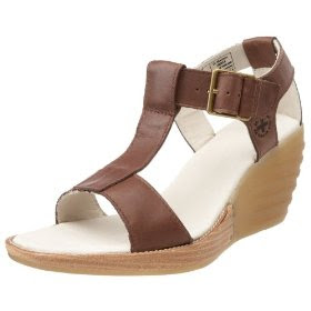 Dr. Marten's Women's Louisa T-Strap Sandal, leather sandals
