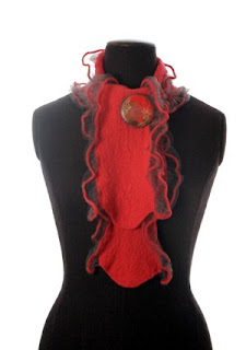 red scarf,red scarves,wool scarf