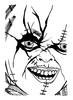 404 not found for Chucky doll coloring pages